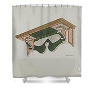Wall Bracket (ecclesiastical) Shower Curtain