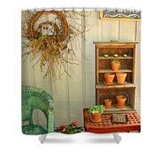 Wall Flower Studio Shower Curtain