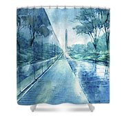 Wall Of Heroes No 2 Shower Curtain