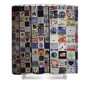 Wall Of Hope Shower Curtain