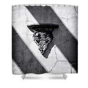Wall Sconce Shower Curtain