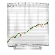 Wall Street Monthly Chart 08/08/2018 Close Shower Curtain