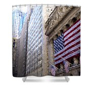 Wall Street, Nyc Shower Curtain