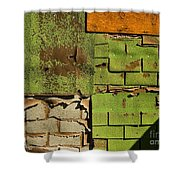 Wall Textures Shower Curtain