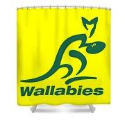 Wallabies Shower Curtain