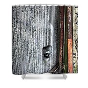 Walled Pipes Shower Curtain