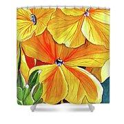 Wallflower Shower Curtain