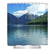 Wallowa Lake Oregon Shower Curtain