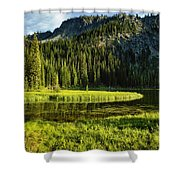 Wallowas - No. 8 Shower Curtain