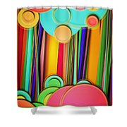 Wallpaper 15 Shower Curtain
