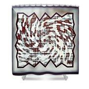 Wallpaper 3 Shower Curtain