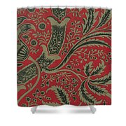 Wallpaper Sample With Bamboo Pattern By William Morris Shower Curtain
