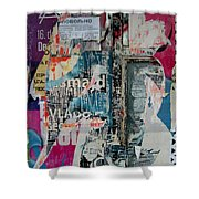 Walls - Favorably Shower Curtain