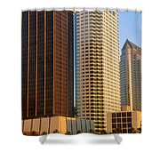 Walls Of Commerce Shower Curtain