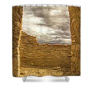 Walls Of Time Shower Curtain