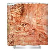 Walls Of Wash 3 In Valley Of Fire Shower Curtain