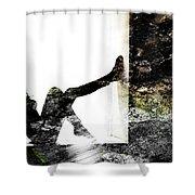 Walls Walks Shower Curtain