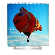 Wally The Clownfish Shower Curtain