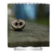 Walnut Shower Curtain