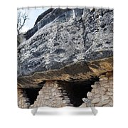 Walnut Canyon National Monument Cliff Dwellings Shower Curtain