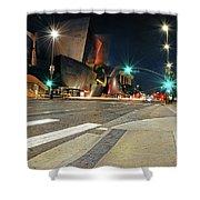 Walt Disney Concert Hall - Los Angeles Art Shower Curtain