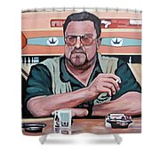 Walter Sobchak Shower Curtain