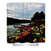 Walter's Basin 3 Shower Curtain