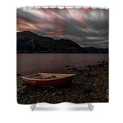 Wanaka Rowboat 2 Shower Curtain