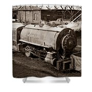 Wanamie Pennsylvania Coal Mine Locomotive Lokey 1969... Shower Curtain