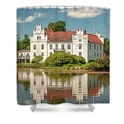 Wanas Castle And Reflection Shower Curtain