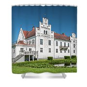 Wanas Castle Front Shower Curtain