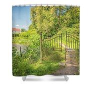 Wanas Castle Secret Gate Shower Curtain