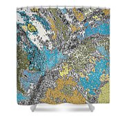 Wandering Minds Shower Curtain