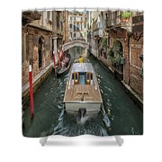 Wandering The Beautiful Venice Canals Shower Curtain