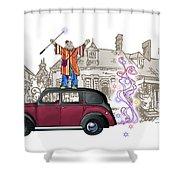 Wandmaster On The Beardmore Shower Curtain