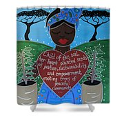 Wangari Maathai Shower Curtain