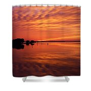 Waning West Shower Curtain