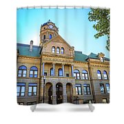 Wapakoneta Ohio Court House Shower Curtain