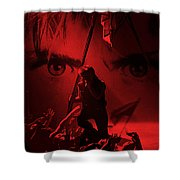 War Shower Curtain