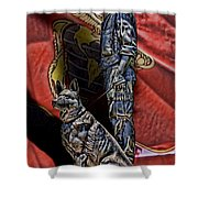 War Dogs Shower Curtain