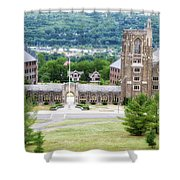 War Memorial Lyon Hall Cornell University Ithaca New York 01 Shower Curtain