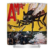 War Of The Worlds, 1927 Shower Curtain
