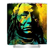 War Paint Shower Curtain