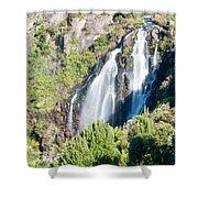 Waratah Falls Tasmania Shower Curtain