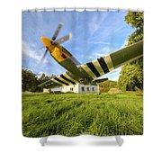 Warbird Shower Curtain