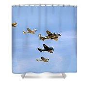 Warbirds Shower Curtain