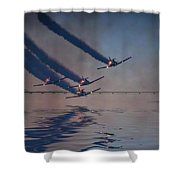 Warbirds On Mission Shower Curtain