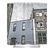 Warehouse Row Shower Curtain