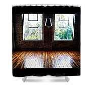 Warehouse View Shower Curtain