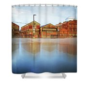 Warehouses Shower Curtain